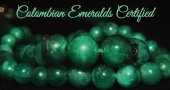 colombian emeralds certified